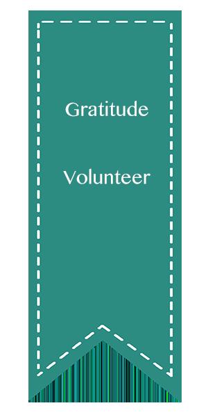 Gratitude, Volunteer